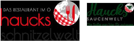 Haucks Schnitzelwelt | Ö-Center, Öhringen Logo